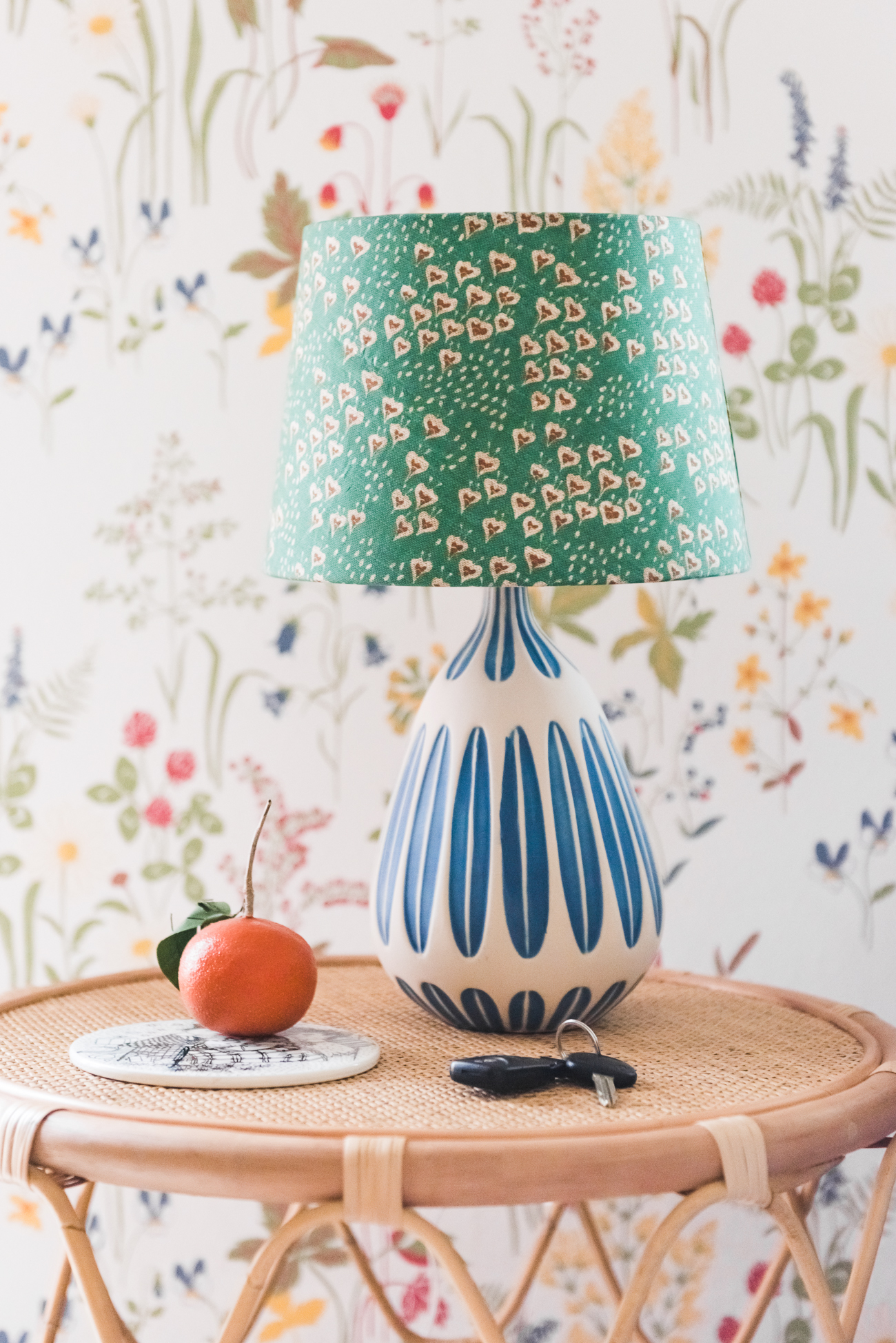 3 DIY lampshades made with unexpected recycled materials