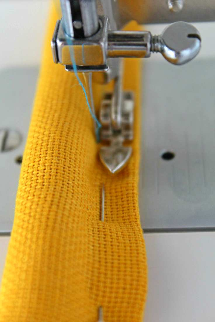 How to sew with canvas fabric