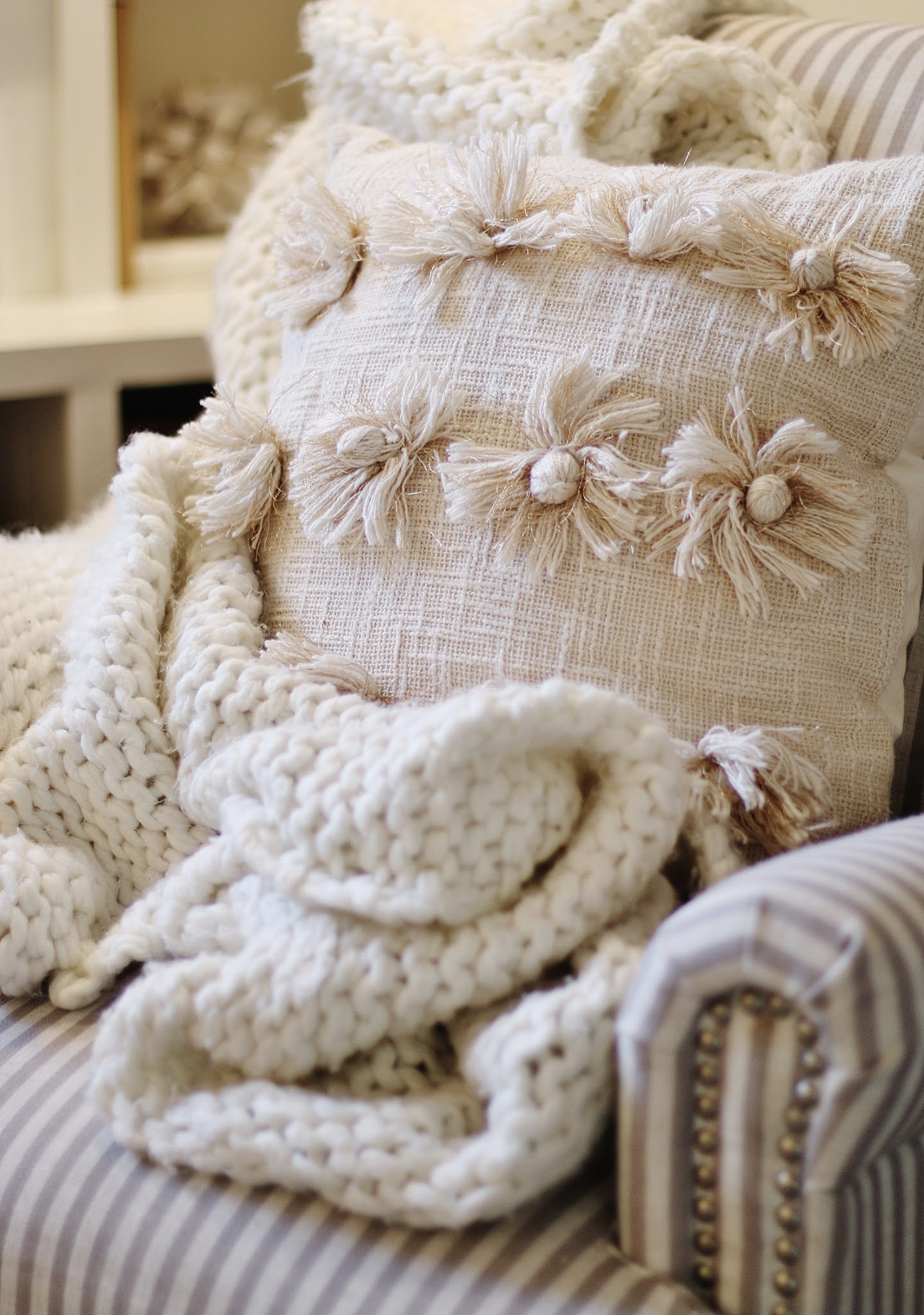 My Number One Pinned Fall Pillow Project