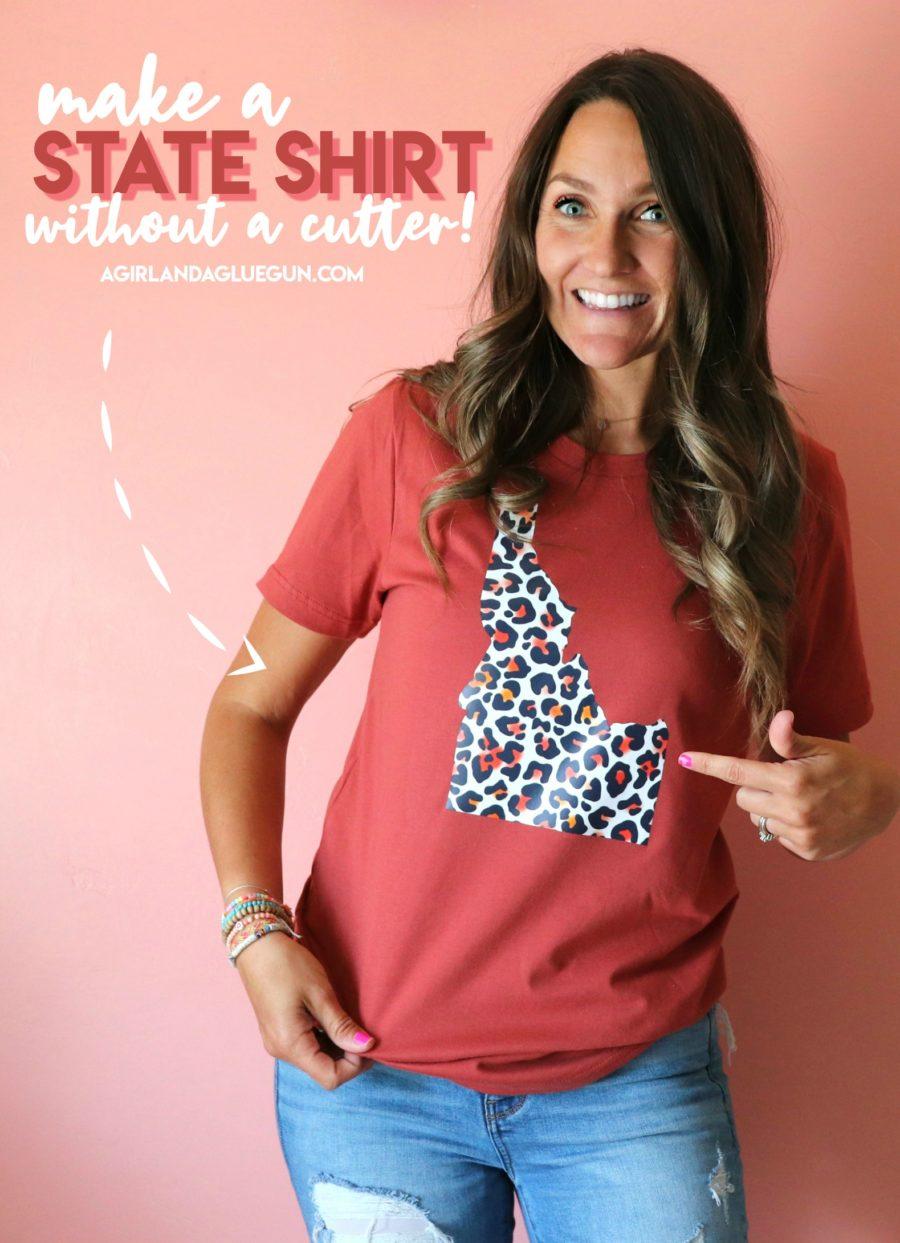 Make a state shirt- without a vinyl cutter!