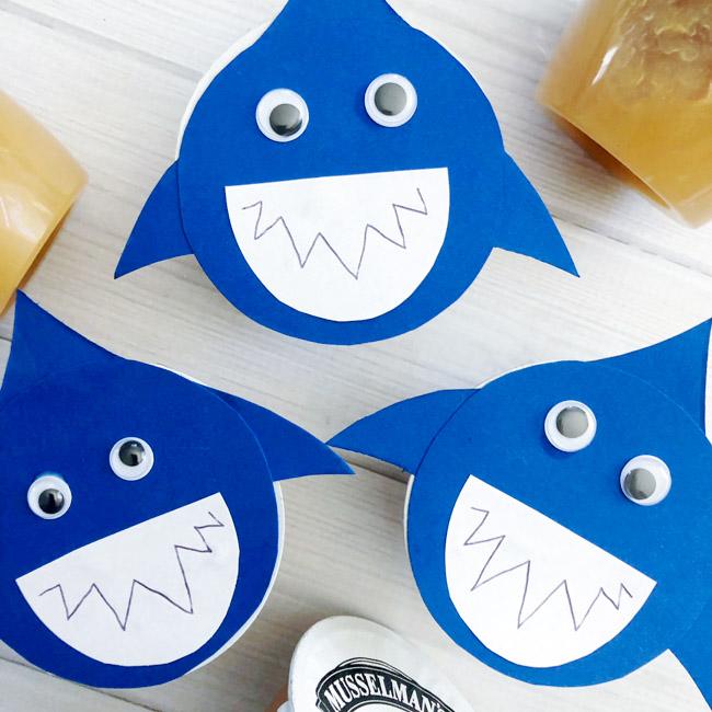 Shark Snack Cups