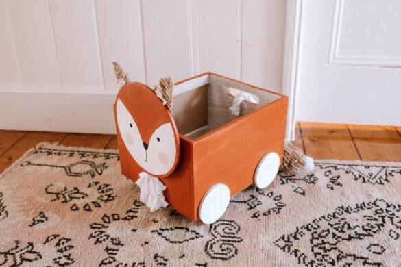 Making A Fox Toy Cart