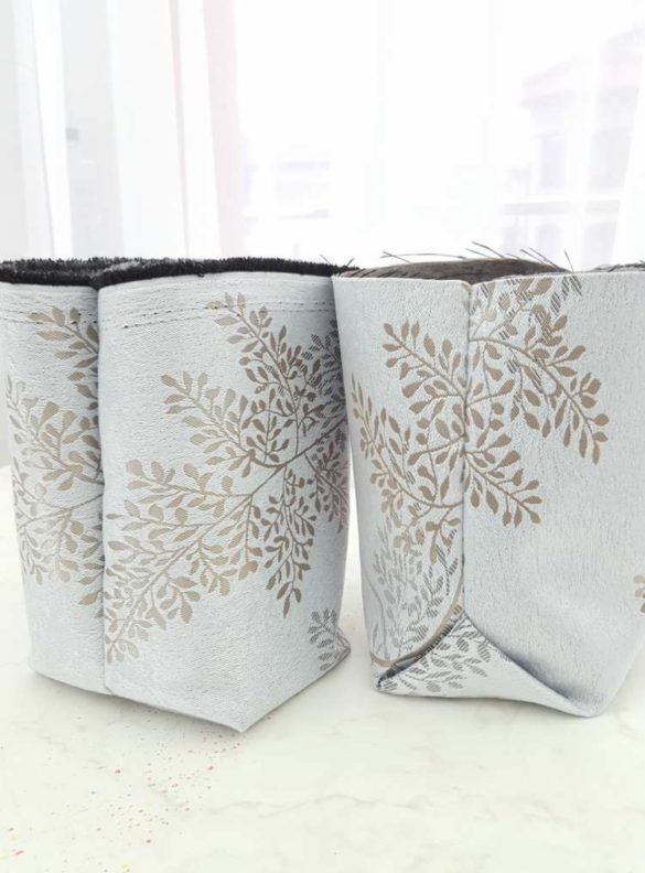 3 Easy methods for SEWING BOX CORNERS on bags