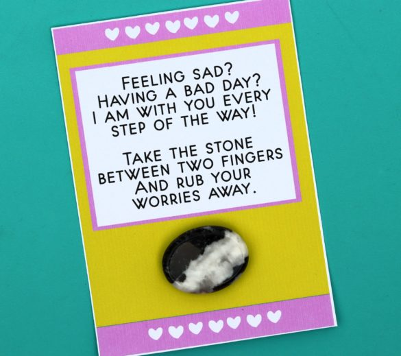 Worry Rock Free Printable