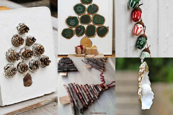 The Best Christmas Nature Crafts and Decorations