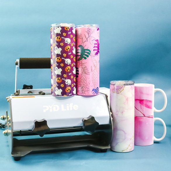 How to Use a Tumbler Press for Tumblers and Mugs