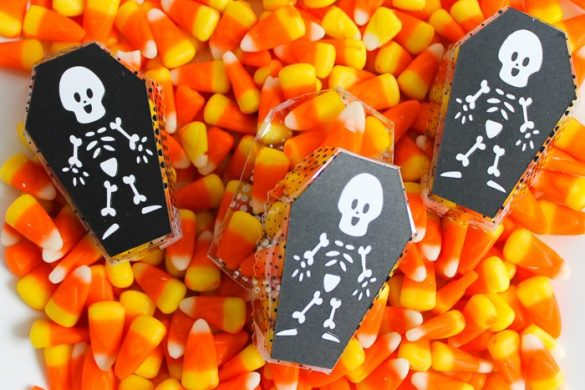 Coffin Treat Boxes with a Cricut Machine