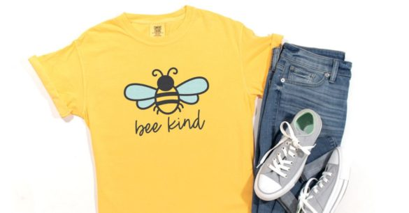 Cute Bee SVG Files for Cricut and Silhouette