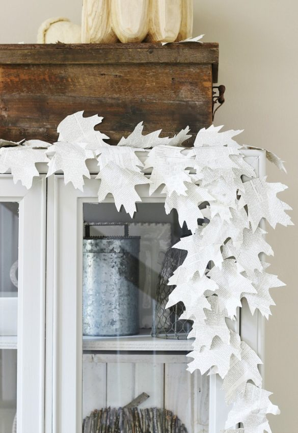 Seven Creative Leaf Projects For Fall