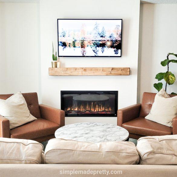 DIY Fireplace Build Out