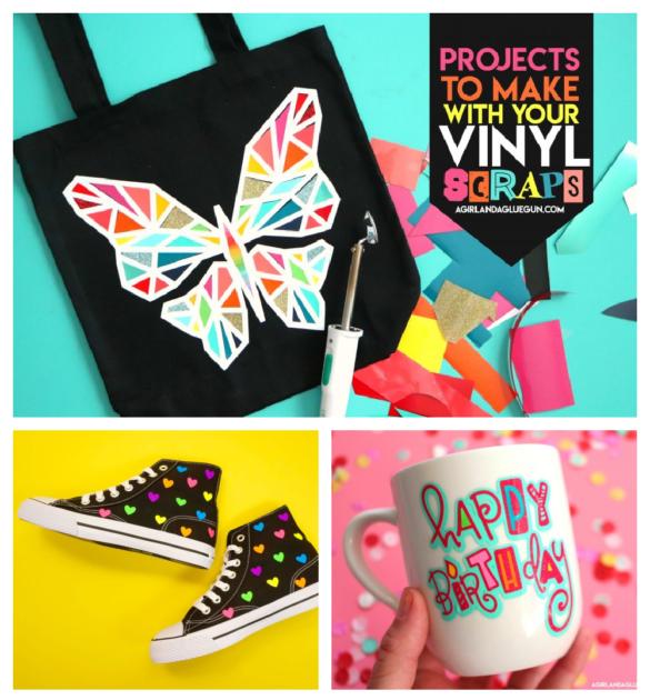 Vinyl scraps Projects