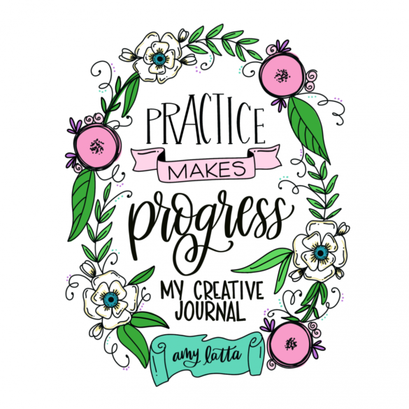 Practice Makes Progress: My New Guided Journal!