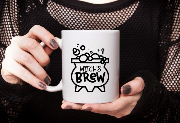 FREE WITCH'S BREW SVG FILE