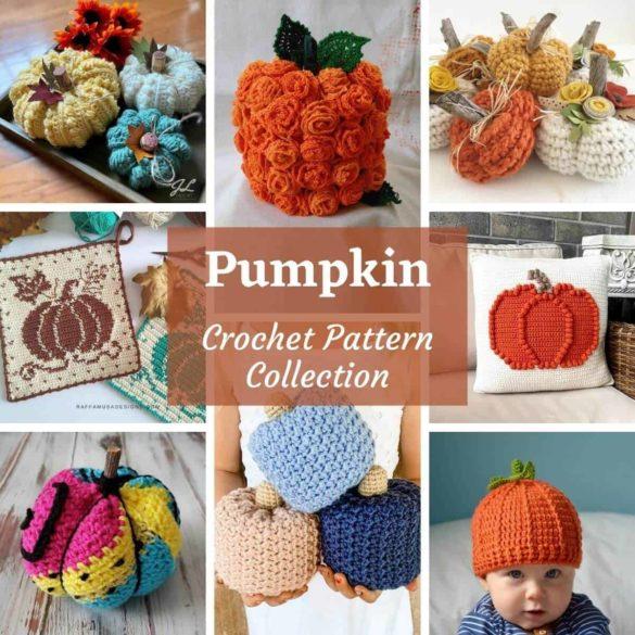 Pumpkin Crochet Pattern Collection