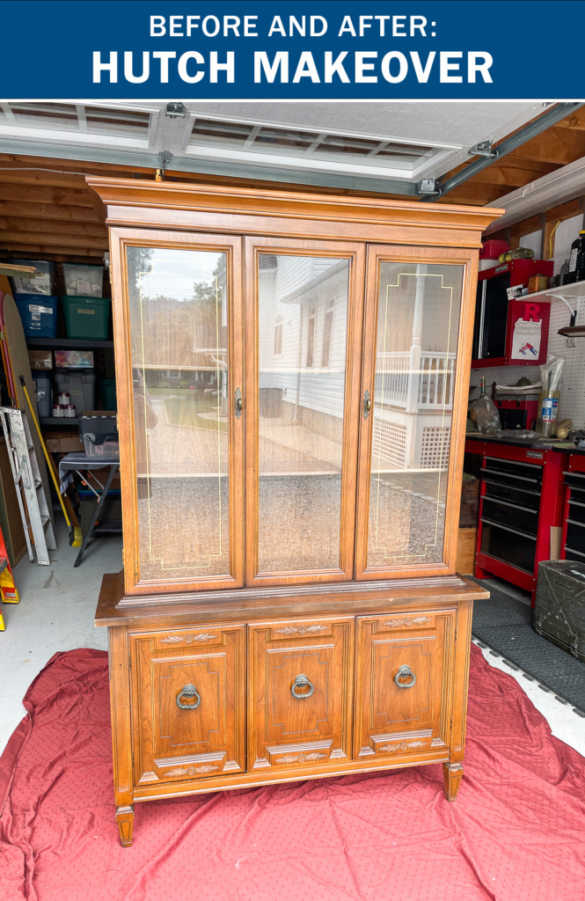 Before and After: Hutch Makeover (Part 1)