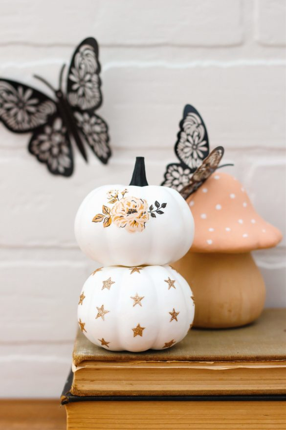 How To Make Cute Temporary Tattoo Pumpkins With Free Printables