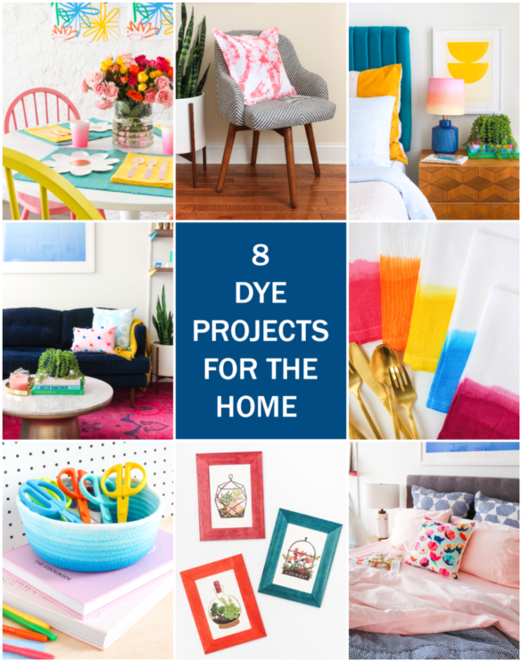 8 Dye Projects to Add Color To Your Home