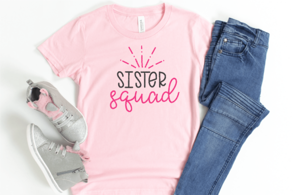 Sister SVG for Cricut and Silhouette
