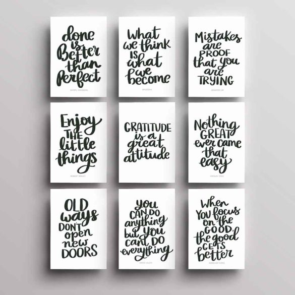 9 Free Printable Quotes That Will Motivate You Today!