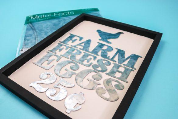Cricut Metal Sheets: Galvanized Sheets to Cut on Your Cricut