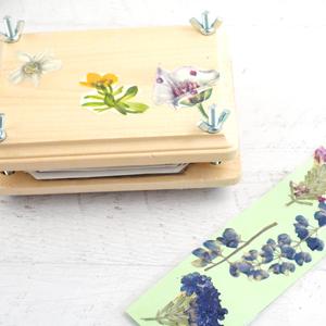 How to Make a Flower Press