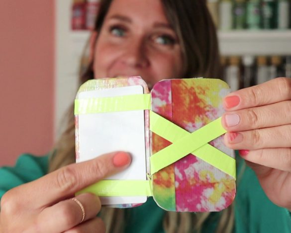 Magic Wallet Duck Tape Project