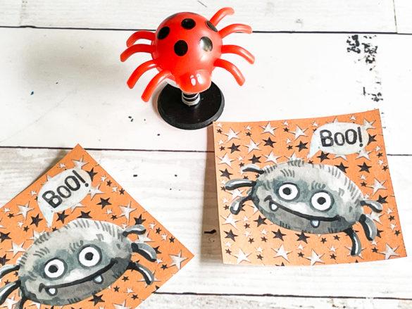 Printable Spider Halloween Tags