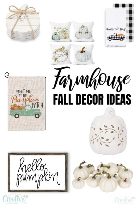 11 Beautiful FARMHOUSE FALL DECORATIONS to Add to Your Home