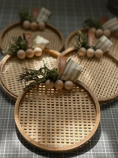 DIY Mini Pumpkin Wreaths Made With Thrifted Finds