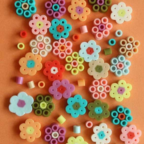 How to Make a Daisy Charm Bracelet with Perler Beads
