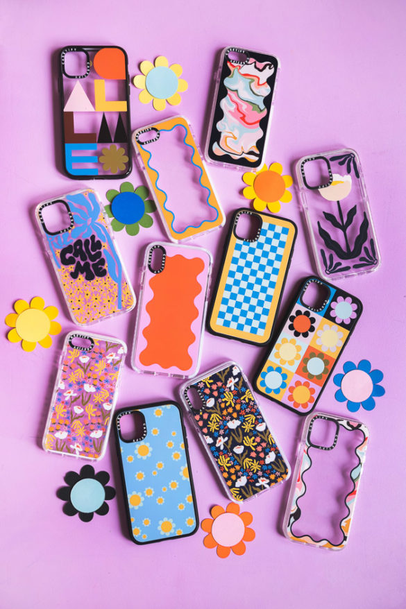 Our new collection of cell phone cases! (and discount code)