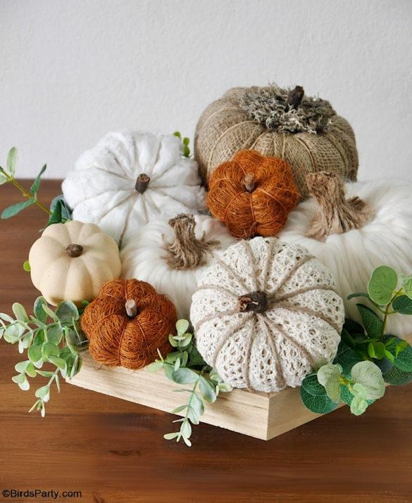 5 Neutral DIY Pumpkin Decorations for Fall