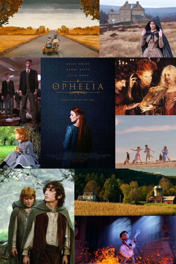 A Fall Movie List & Cozy Pajamas