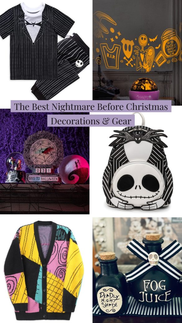 The Best Nightmare Before Christmas Decorations, Games & Gear