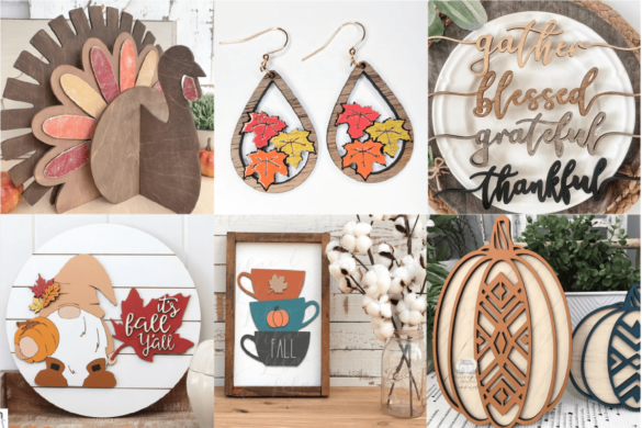Thanksgiving and Fall Glowforge Projects and Files