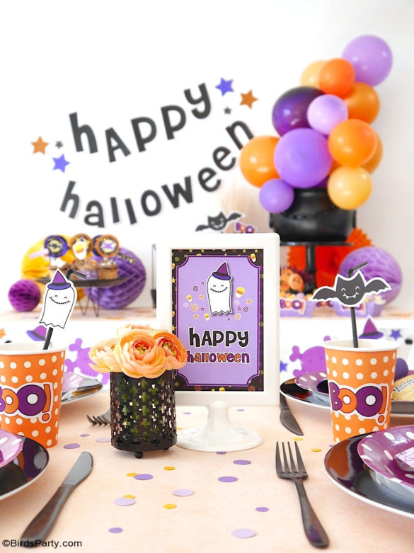 Our Cute Candy Corn DIY Halloween Party Decorations and Ideas