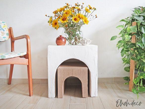 How to make DIY Cardboard table