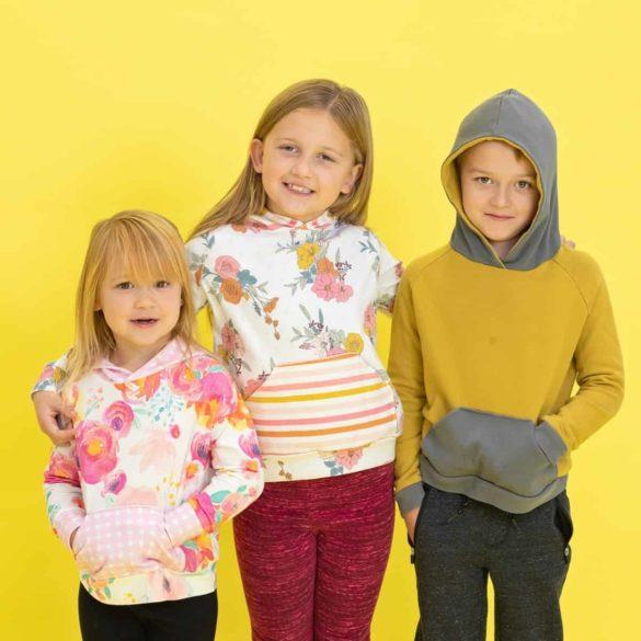 Free Kids Hoodie Sewing Pattern