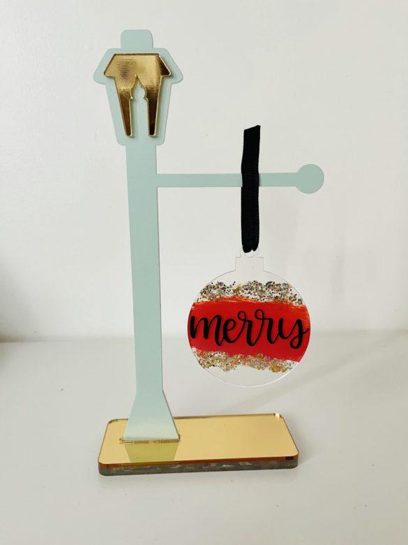 DIY Acrylic Christmas Ornaments
