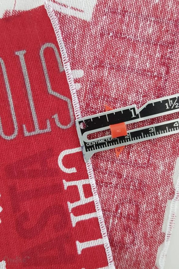 How to sew a serged rolled hem – with video instructions