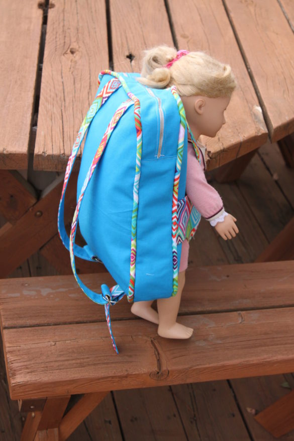 Backpack and Doll Carrier