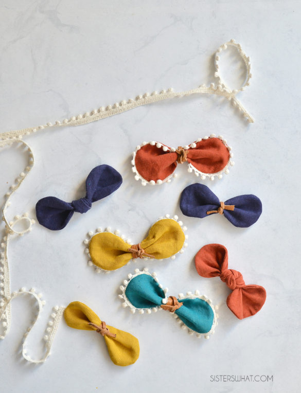 How to Make Linen Hairbows and Cut Fabric with Cricut Maker 3