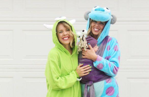 DIY Halloween Costumes: Monster Costume for Babies