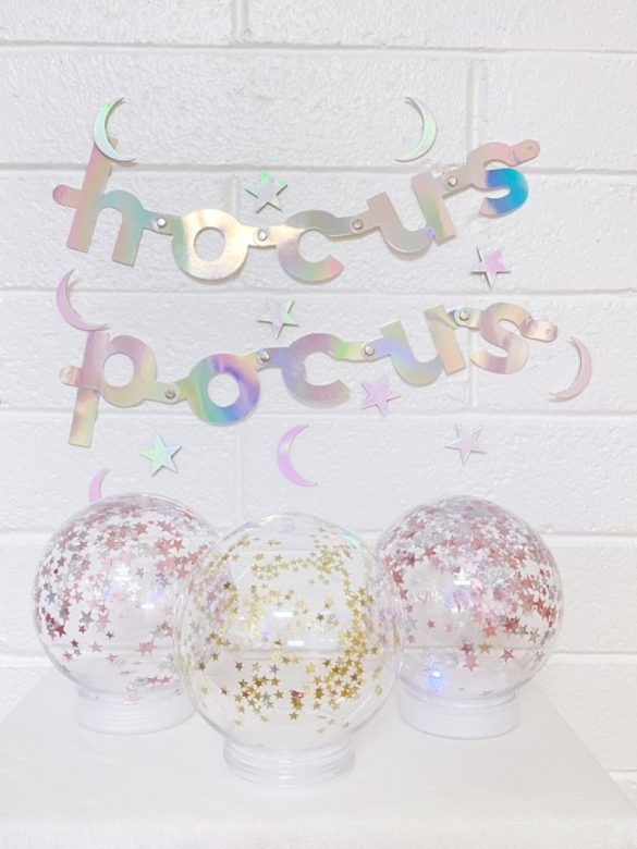 DIY Magic Crystal Ball
