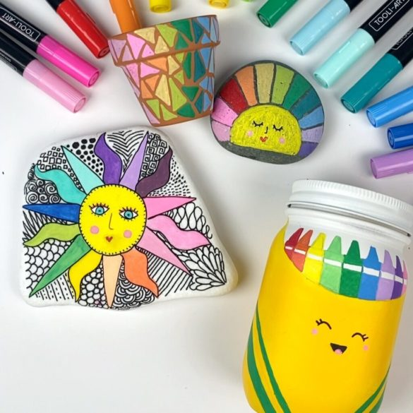 Best Paint Pens and Paint Markers for Crafts