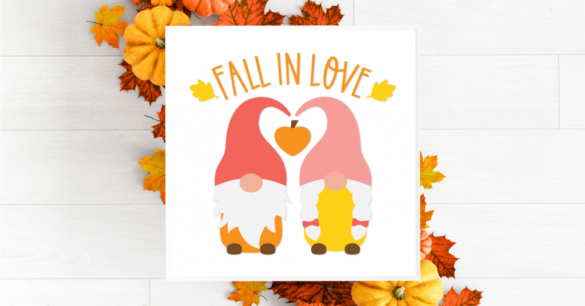Fall Gnomes Bundle for Cricut and Silhouette