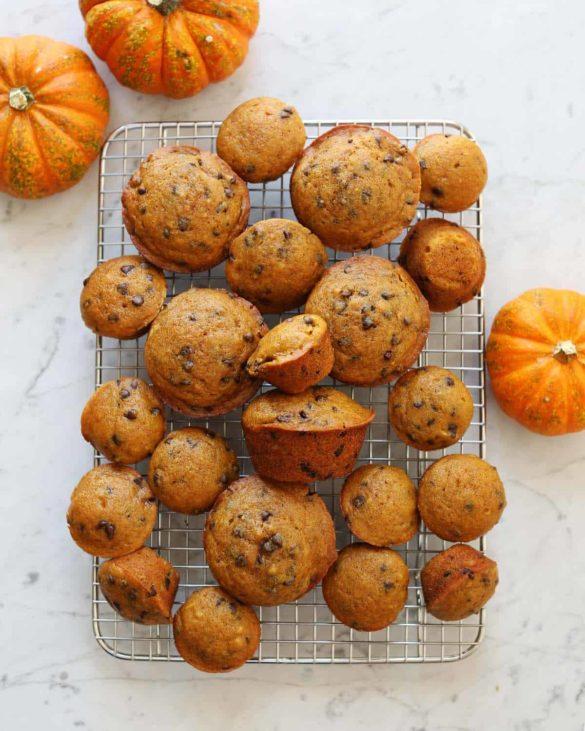 Soft Pumpkin Muffins