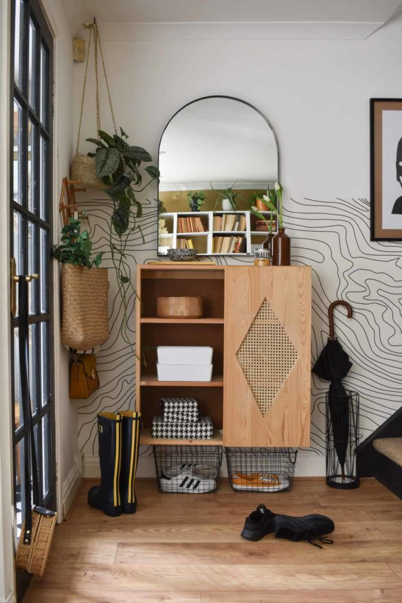 IKEA HACK: How to Add Cane Webbing to an IVAR Cabinet