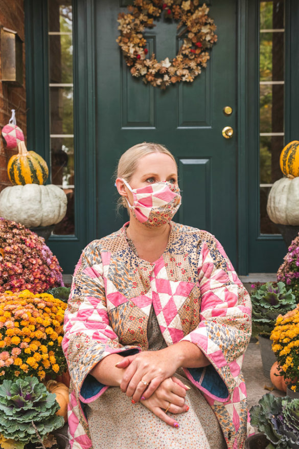 DIY Quilted Face Mask