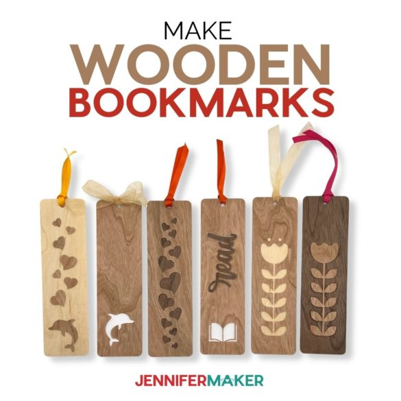Make Wooden Bookmarks: How to Cut Wood Veneer on a Cricut